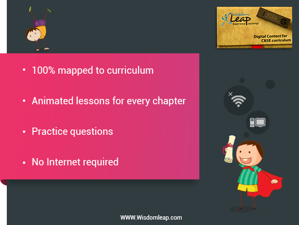 WisdomLeap   Online learning study materials, CBSE, ICSE